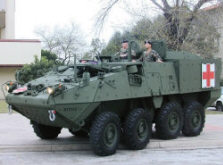 M1133 Stryker Medical Evacuation Vehicle (MEV) 10.09.2005