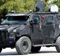 Ford f550 iag sentinel armored tactical vehicle