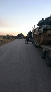 Russian T-90 A in Aleppo, first Russian ground operations have just began
